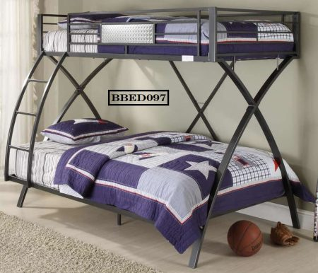 new design bunk bed-black color