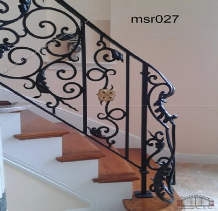 Casting Stair Railing (027)  new model railing