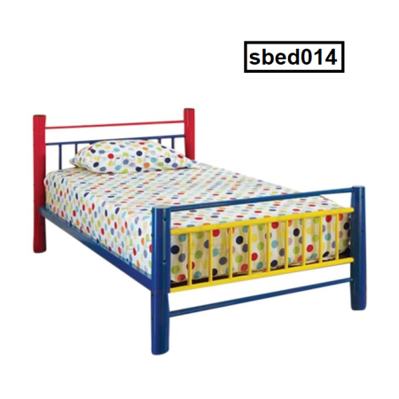 Single Steel Bed (014)