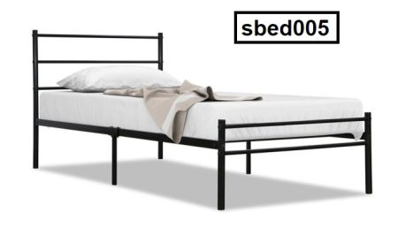 Single Steel Bed (005)