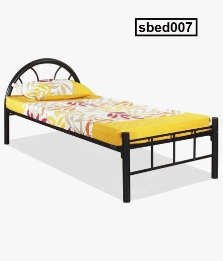 Single Steel Bed (007)