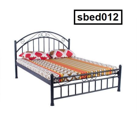 Single Steel Bed (012)