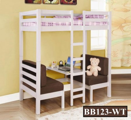 MS Bunk Bed with Desk (BB123)