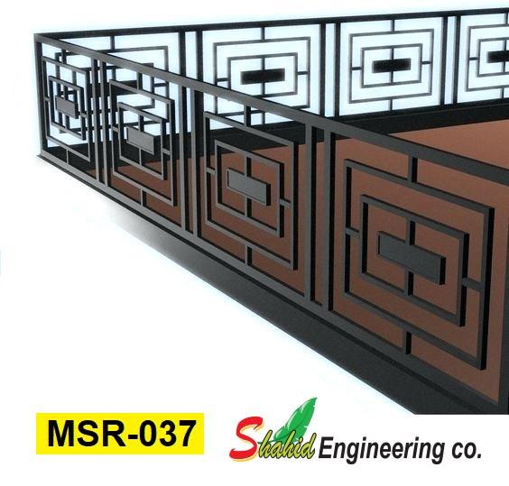 Casting Stair Railing (037) new model railing   smmbdstore.com