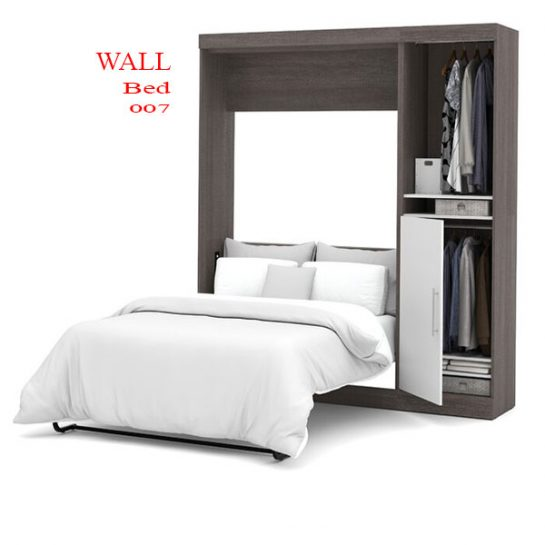 murphy bed with cabinet