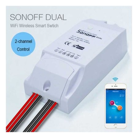 2 Gang Wireless Smart Switch