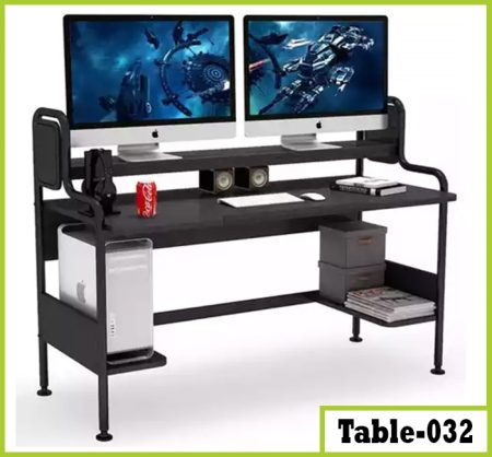 Dual Monitor YouTube Workstation (T032)