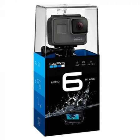 GoPro Hero 6 Black - 4K Ultra HD Action Camera