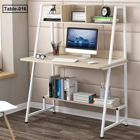 Modern-Computer-Desk-With-Shelves-PC-Workstation-Study-Writing-Table-Home-Office-Furniture 1