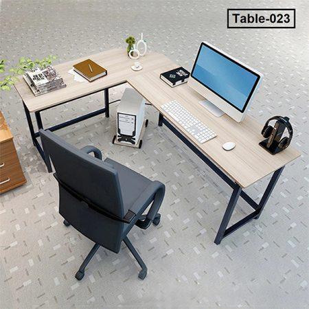 Office-Desktop-Computer-Desk-Steel-wood-Durable-Corner-Computer-Desk-Office-Desk-Large-Area-Workbench-Efficient 1