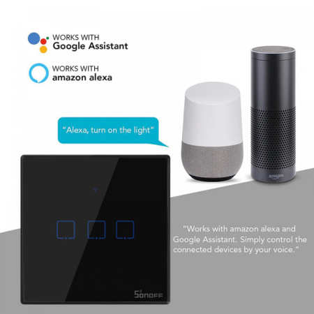 SONOFF WiFi Smart Wall Touch Switch