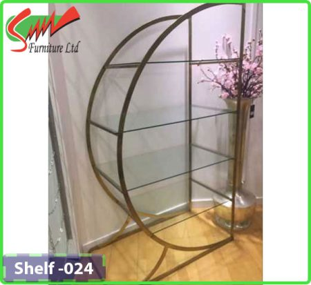 Bookshelf With Glass