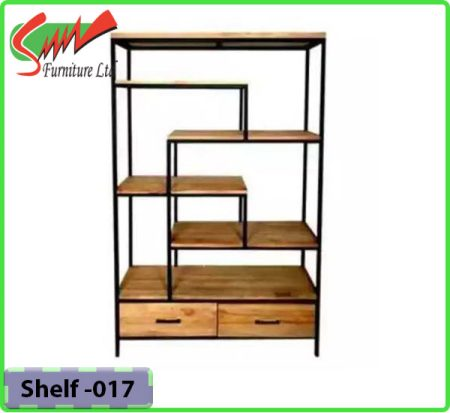 Bookshelf Steel & Board