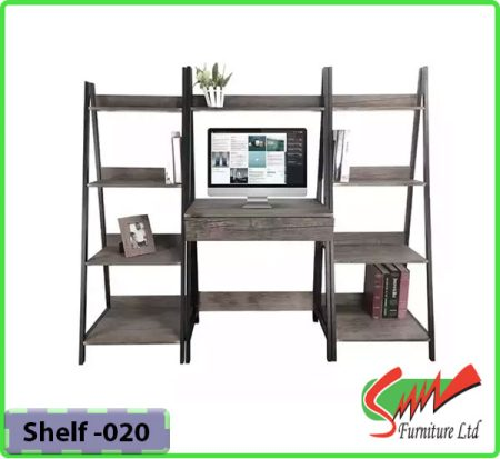 New Design Bookshelf For Steel & Board