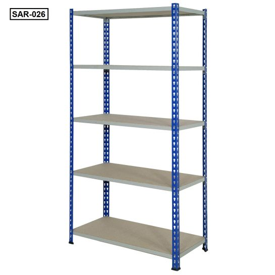 Heavy-Duty Industrial Slotted Angle Racks