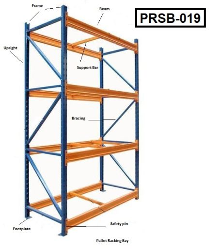 Heavy Duty Steel Pallet Rack