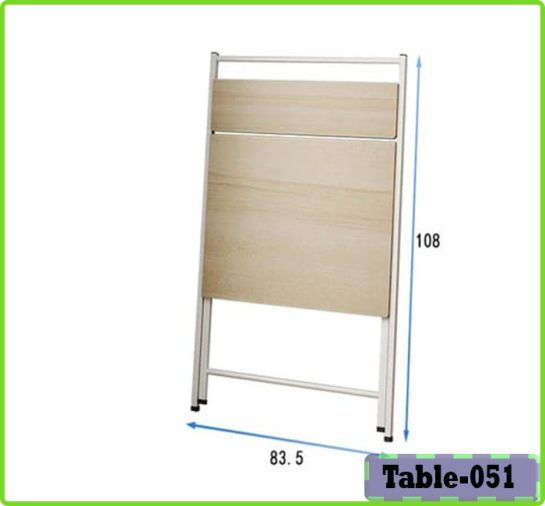 Height adjustable reading table for home