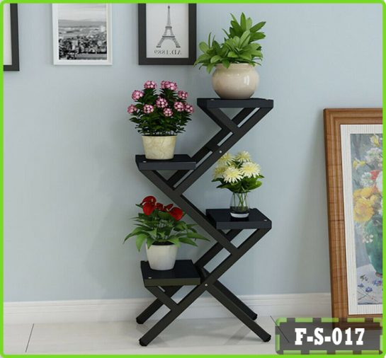 4 Tier Plant Flower Pot Stand Bookcase Display Shelf Home Office Shelving Unit