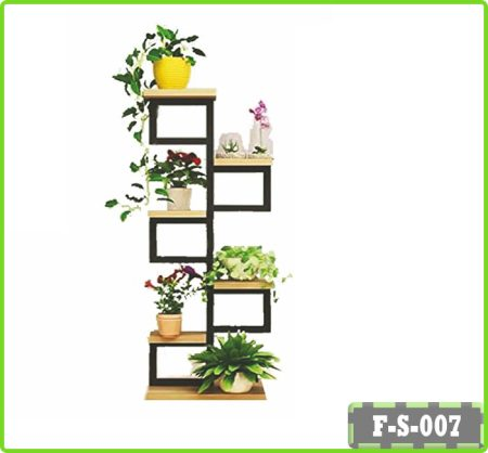Flower Rack Plant Stands 6-Tier Iron Flower Stand