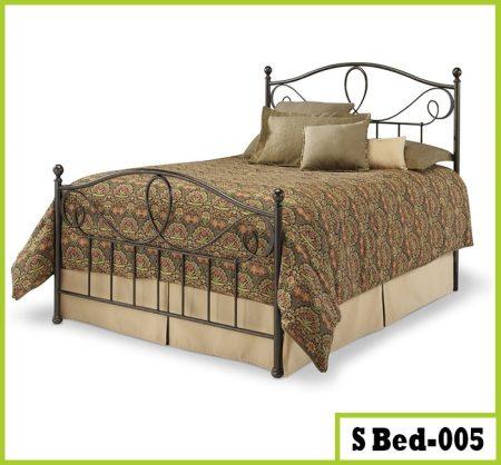 Double Steel Bed
