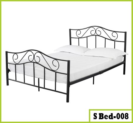 Steel Double Bed