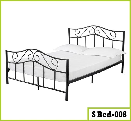 Steel Double Bed