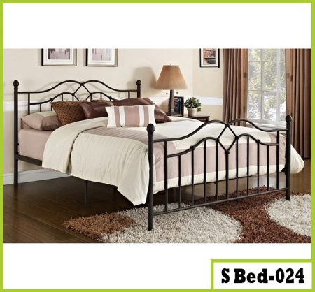 Double Steel Bed For Living Room