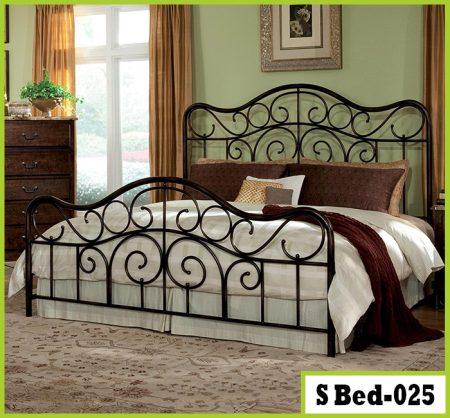 Queen Steel Bed
